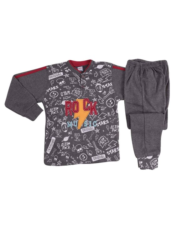 SİMİSSO - Simisso Pijama Takımı 985 | Gri