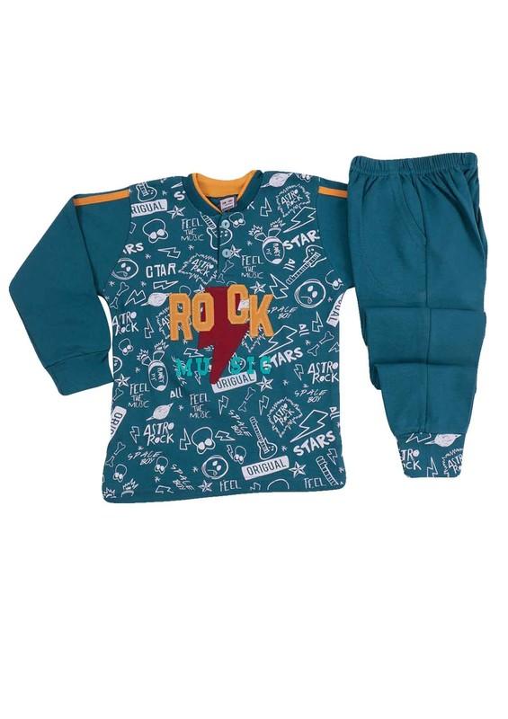 SİMİSSO - Simisso Pijama Takımı 985   Mavi