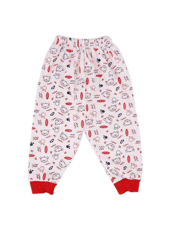 AYMİX BABY - Aymix Pijama Altı 281 | Kırmızı