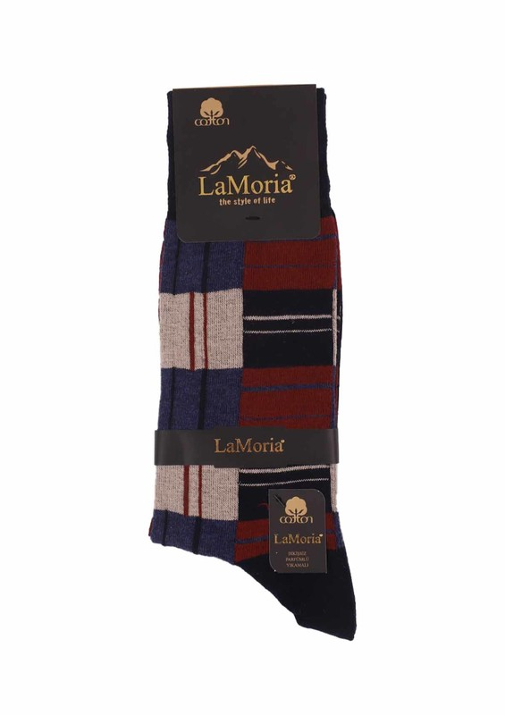 LA MORİA - La Moria Dikişsiz Çorap 51622 | Lacivert