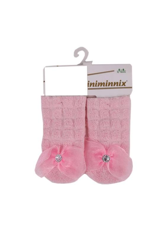 MİNİMİNNİX - Miniminnix Havlu Çorap 358 | Pembe