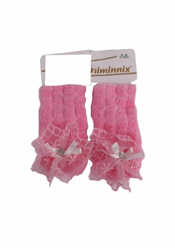 MİNİMİNNİX - Miniminnix Havlu Çorap 355 | Pembe