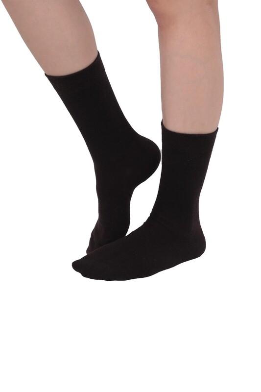 PRO - Pro Kadın Diyabetik Çorap 16409 | Kahverengi