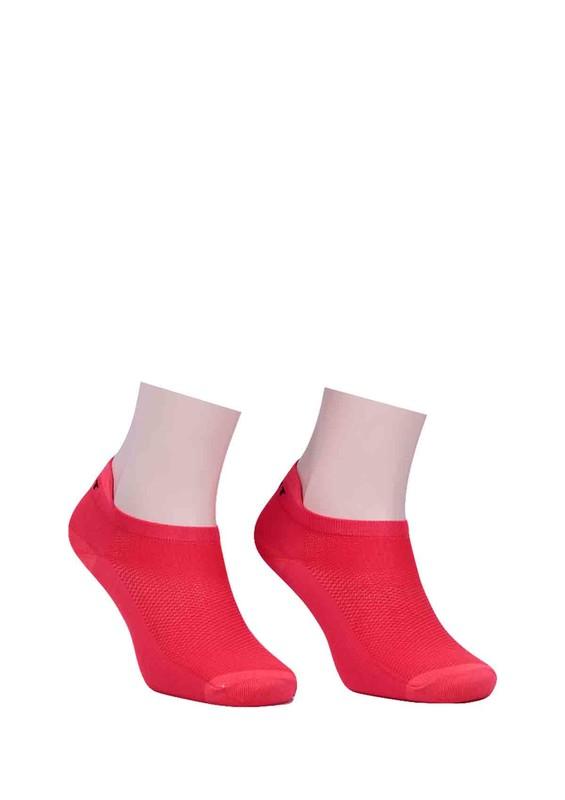 SAHAB - Sahab Soket Çorap 642   Kırmızı