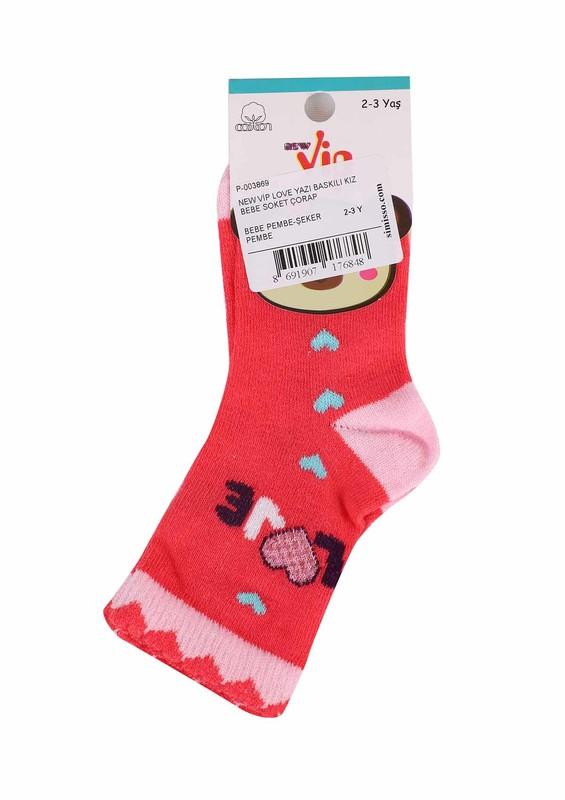 SİMİSSO - New Vip Soket Çorap 508   Pembe