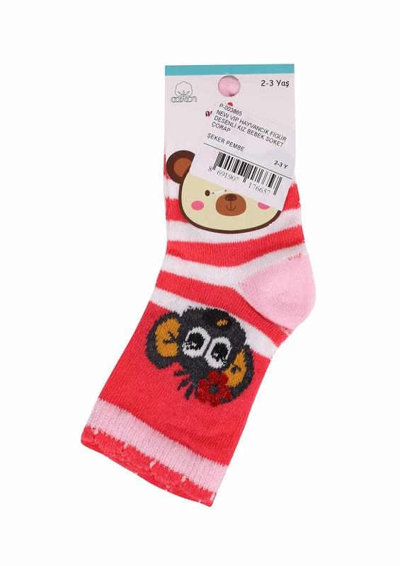 SİMİSSO - New Vip Soket Çorap 505   Pembe