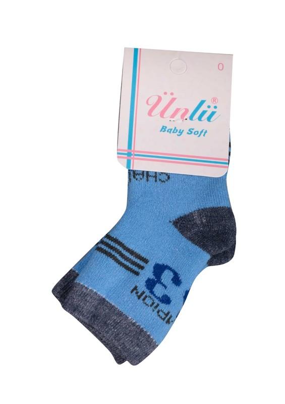 ÜNLÜ BABY - Ünlü Baby Çorap 001 | Mavi