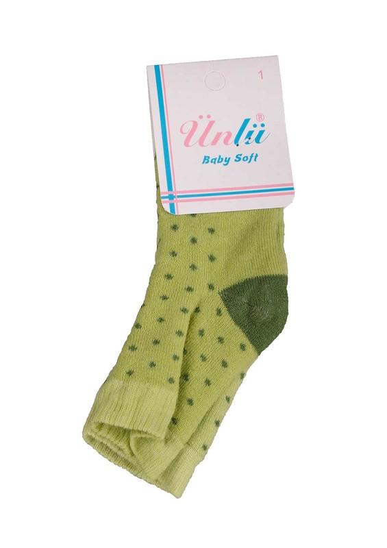 ÜNLÜ BABY - Ünlü Baby Çorap 105 | Yeşil