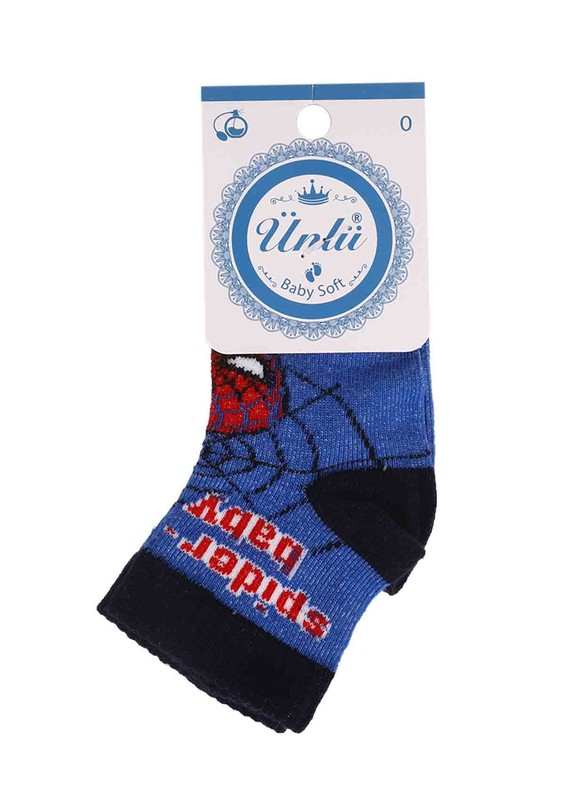 ÜNLÜ BABY - Ünlü Baby Çorap 114   Lacivert