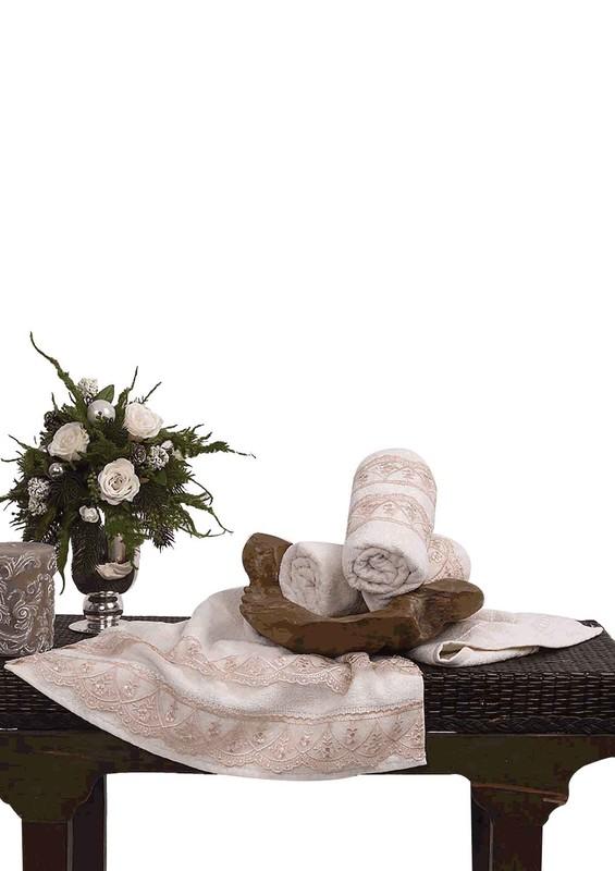ANEMON - Полотенце Anemon для рук и лица 873/коричневый