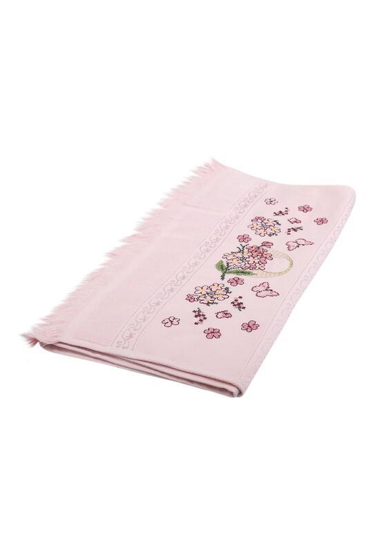 BEĞENAL - Полотенце с вышивкой 50*90см./розовый