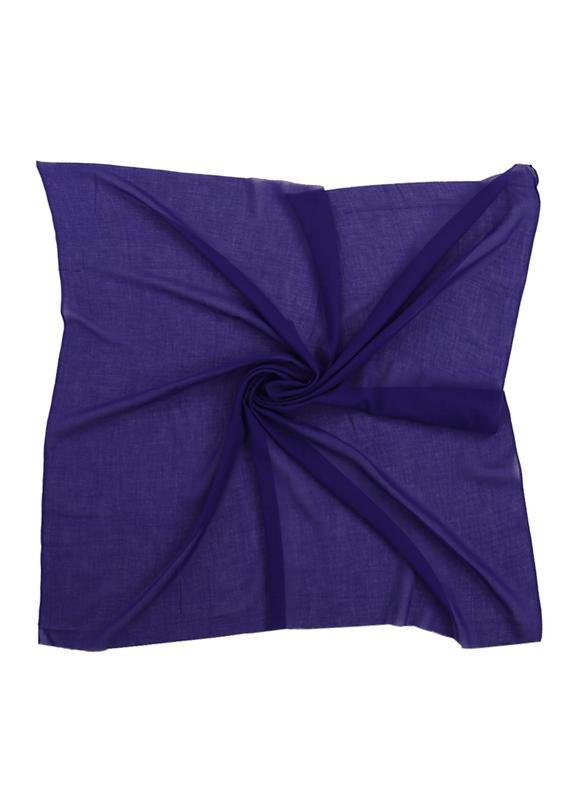 ÇEHİZ - Бесшовный одноцветный платок Çehiz 100см/230-7