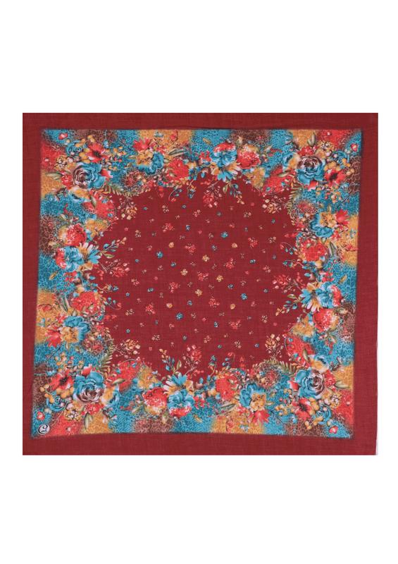 CENK - Бесшовный платок Cenk с принтом 100см/1440