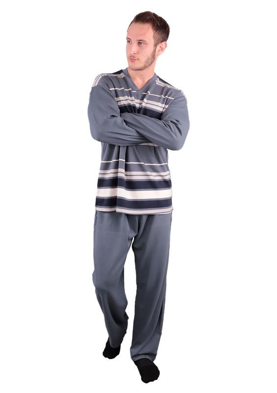 FAPİ - Fapi Pijama Takımı 9231   Gri