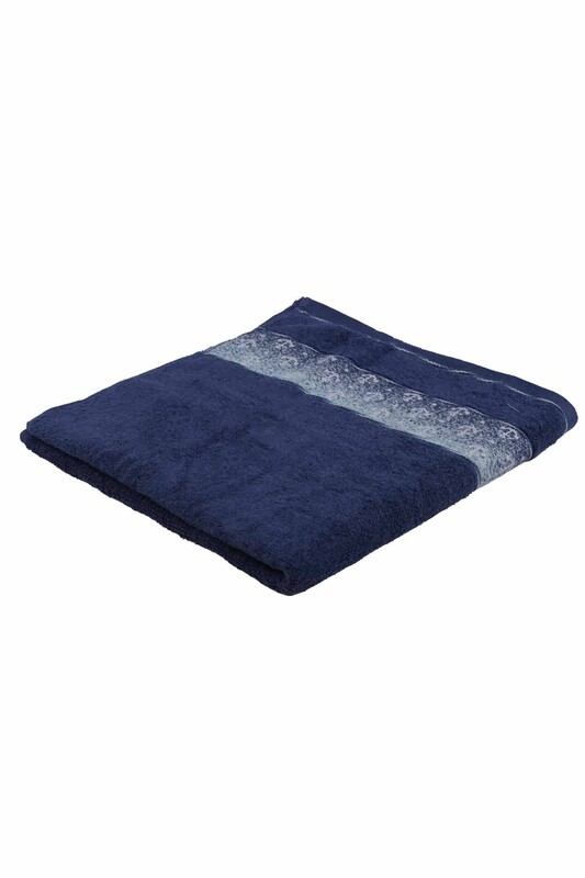 FİESTA - Банное полотенце Fiesta 70*140см./синий