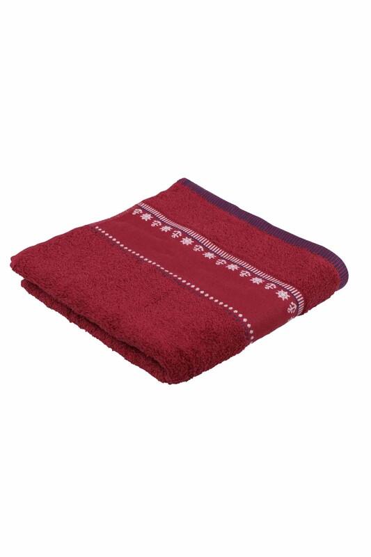 FİESTA - Полотенце Fiesta для вышивки 50*90см./бордовый