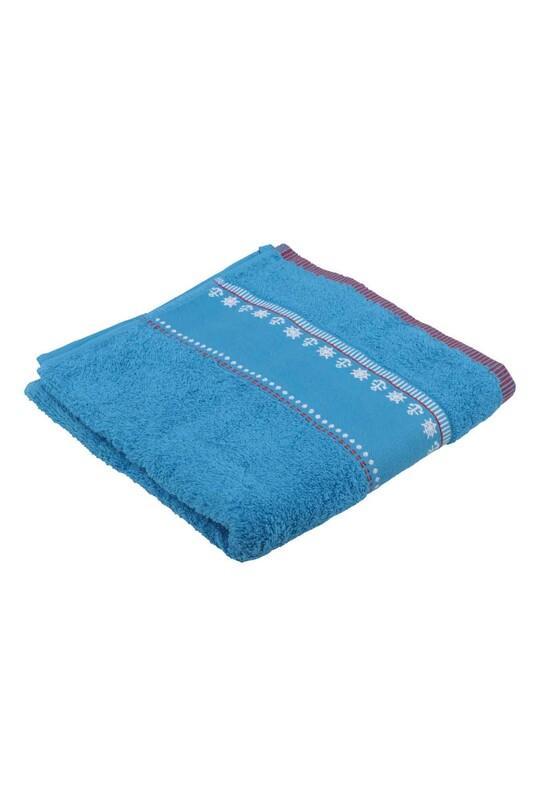 FİESTA - Полотенце Fiesta для вышивки 50*90см./голубой