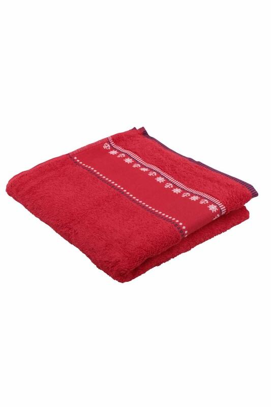FİESTA - Полотенце Fiesta для вышивки 50*90см./красный