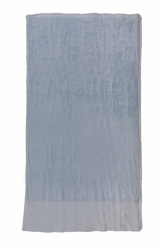 HAZANGÜLÜ - Полотенце для лица и рук Hazangülü/голубой