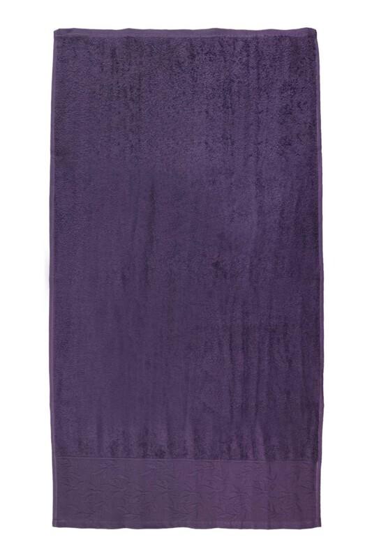 HAZANGÜLÜ - Полотенце для лица и рук Hazangülü/пурпурный