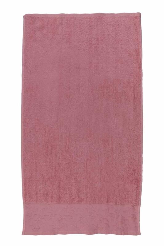 HAZANGÜLÜ - Полотенце для лица и рук Hazangülü 50*90см./розовый