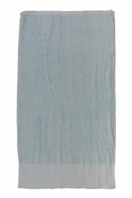 HAZANGÜLÜ - Hazangülü Tuana El ve Yüz Havlusu 50x90 cm | Turkuaz