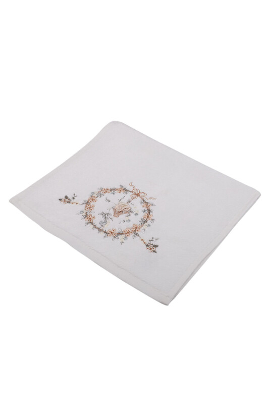 HAZANGÜLÜ - Бархатное полотенце Hazangülü для вышивки 30*50см./бежевый