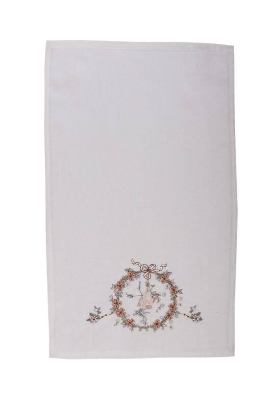 HAZANGÜLÜ - Бархатное полотенце Hazangülü для вышивки 30*50см./визон