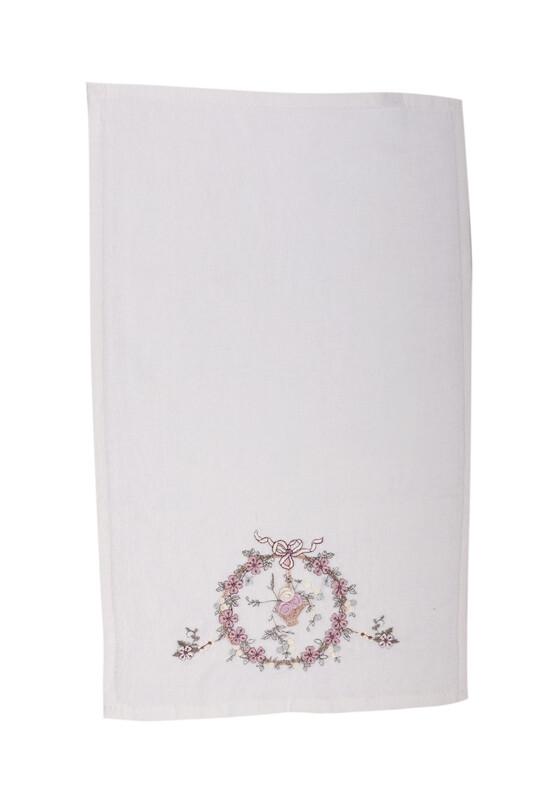 HAZANGÜLÜ - Бархатное полотенце Hazangülü для вышивки 70*140см./лиловый