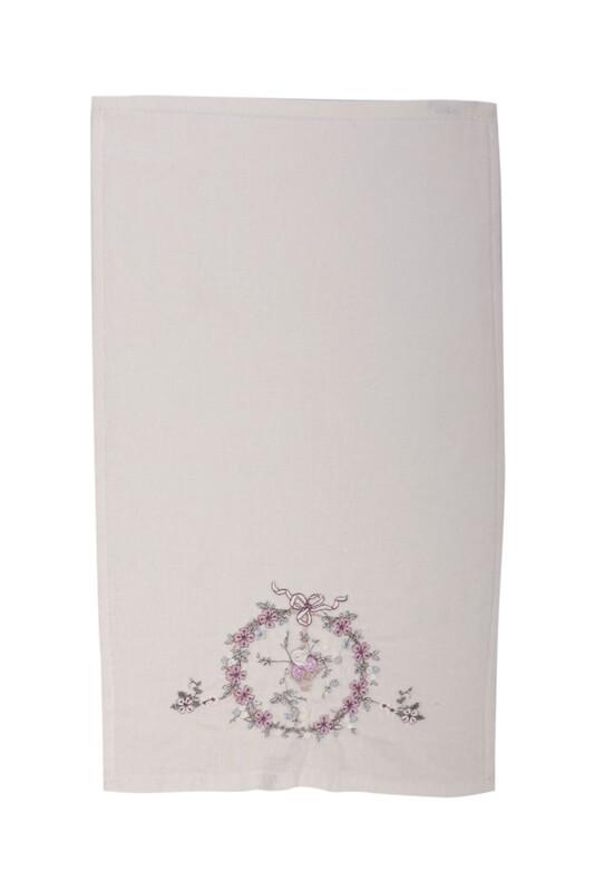HAZANGÜLÜ - Полотенце Hazangülü для вышивки 30*50см./лиловый