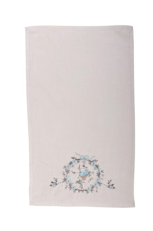 HAZANGÜLÜ - Полотенце Hazangülü для вышивки 30*50см./бирюзовый