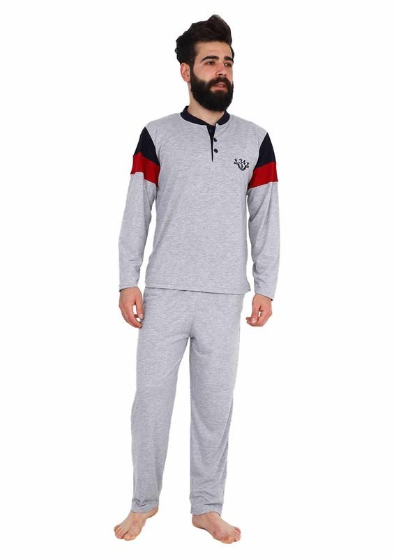 IŞILAY - Işılay Pijama Takımı 7250   Gri