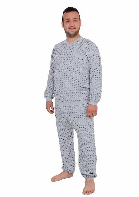 ITAN - İtan Pijama Takımı 347 | Gri