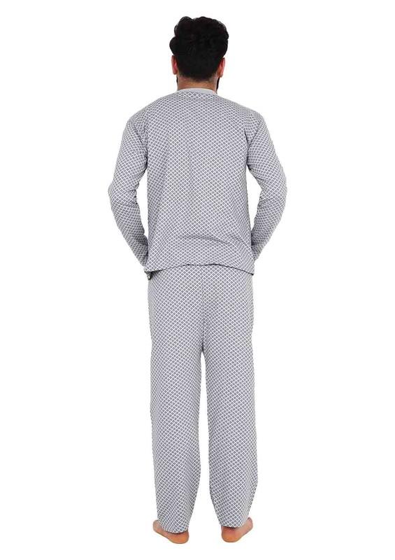 ITAN - İtan Pijama Takımı 441   Gri
