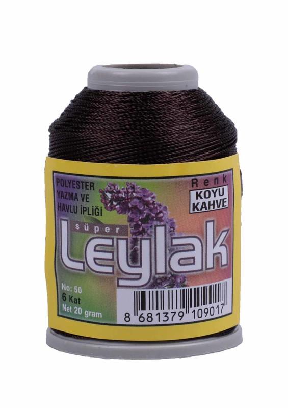 LEYLAK - Нить-кроше Leylak /кофейный