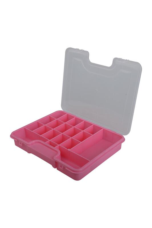 MİR PLASTİK - Органайзер для украшений 20*26 см/розовый