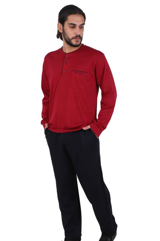 Пижама Pierre Cardin 5560  бордовый - Thumbnail