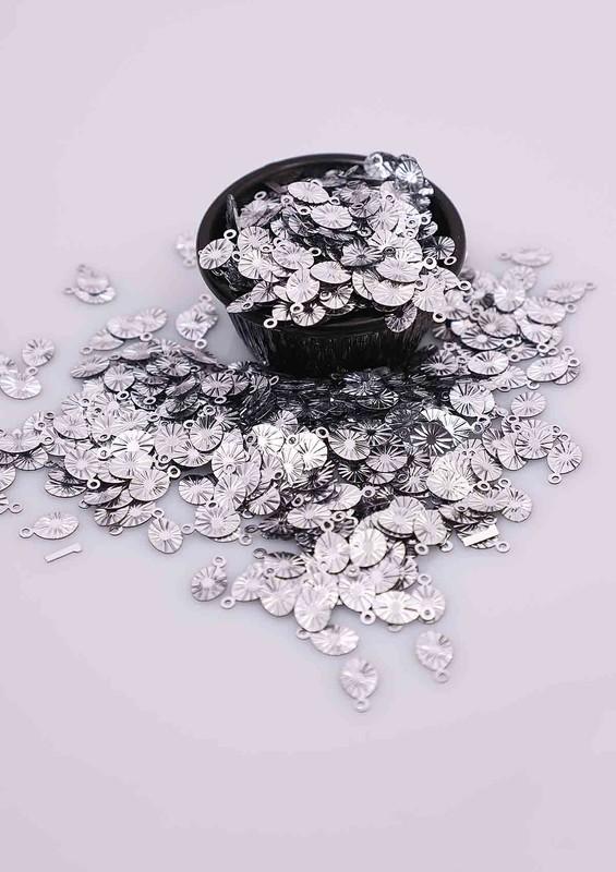 PULSAN - Пайетки Pulsan 323/серебряный