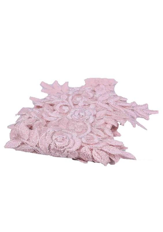 SİMİSSO - Аппликация из гипюра Simisso 541/светло-розовый