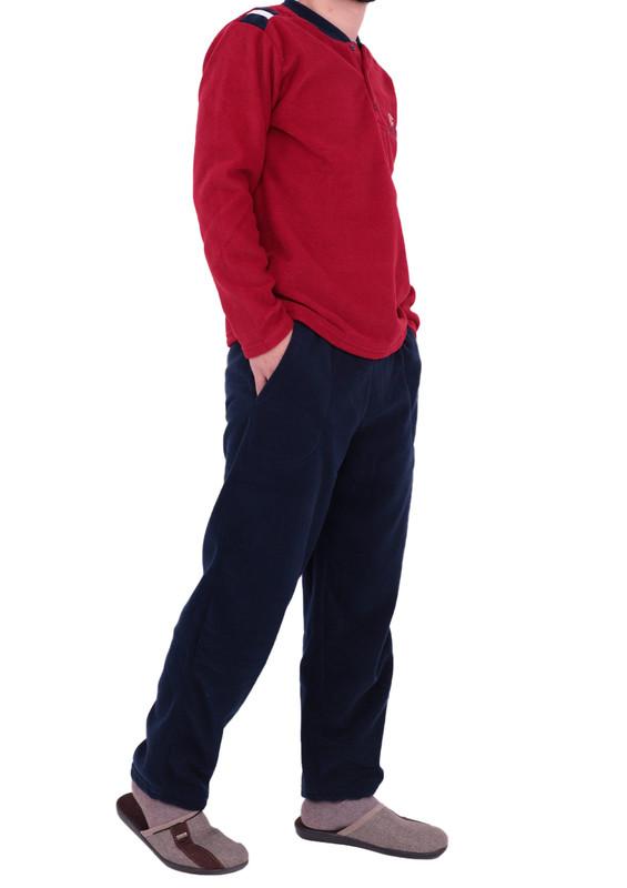 SİMİSSO - Пижамный комплект SIMISSO из флиса 03/бордовый