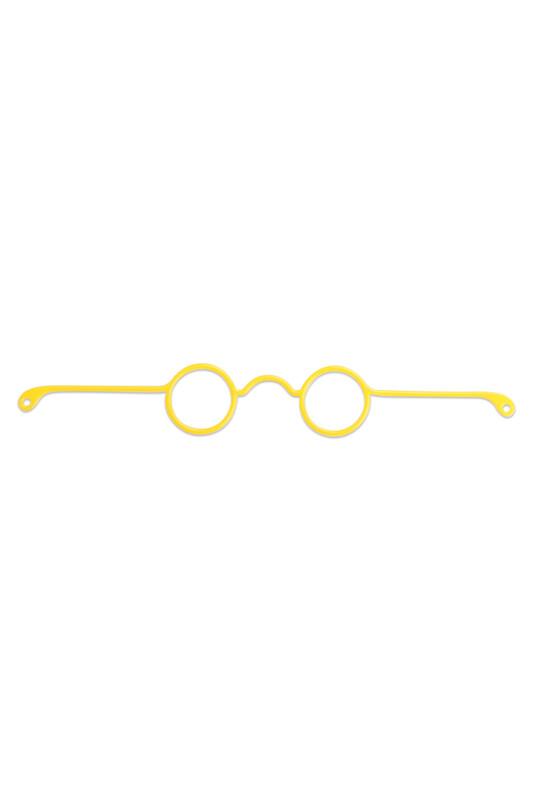 SİMİSSO - Очки для амигуруми 17см./жёлтый