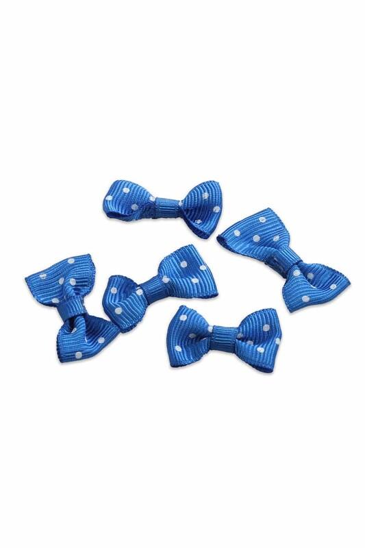SİMİSSO - Бантик Amigurumi 5 шт./синий