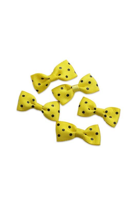 SİMİSSO - Бантик Amigurumi 5 шт./жёлтый