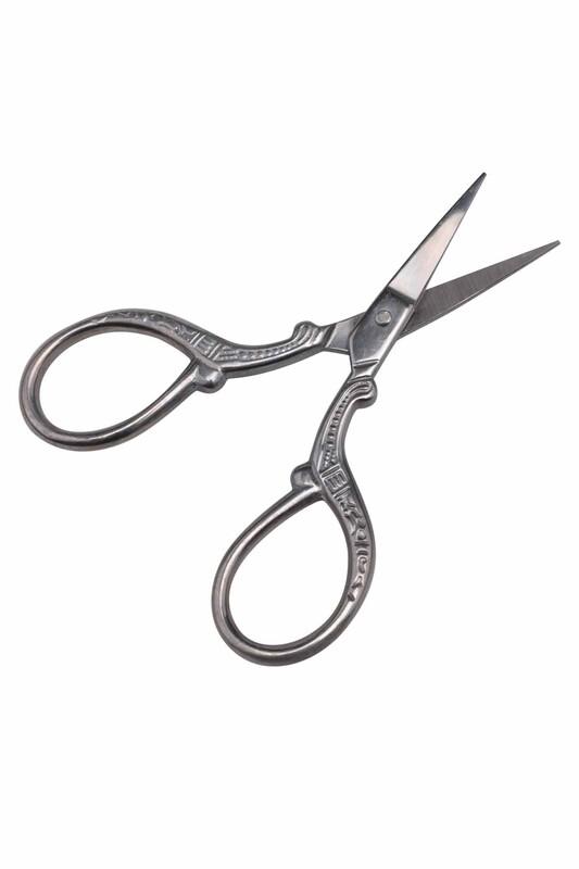 SİMİSSO - Антикварные ножницы 5637| серебряный