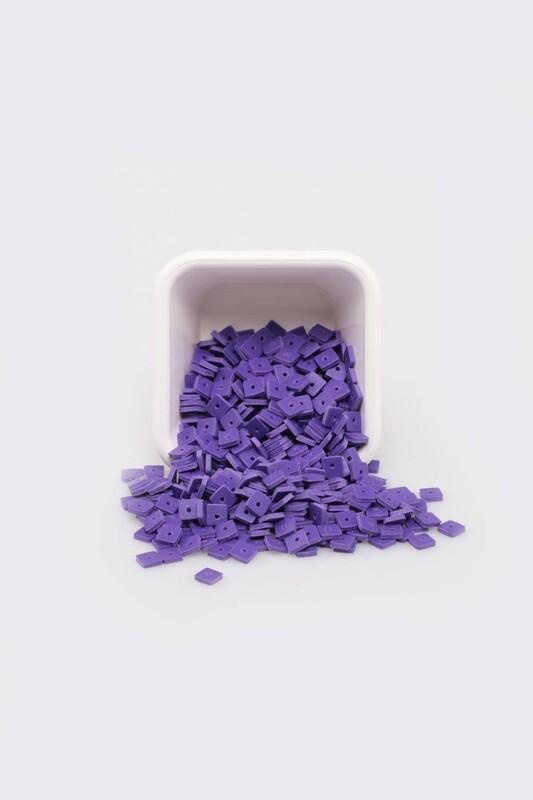 SİMİSSO - Плоские бусины SIMISSO 5 мм/фиолетовый