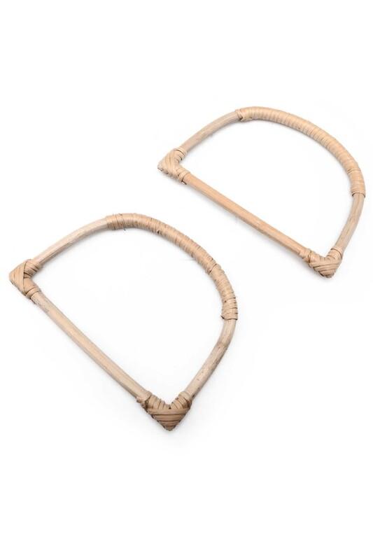 SİMİSSO - Бамбуковые ручки для сумок SIMISSO/naturel