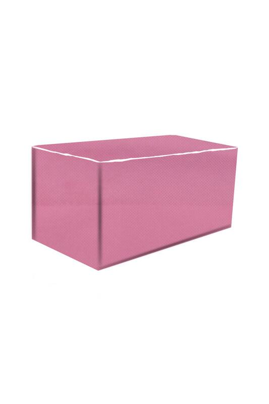 SİMİSSO - Нетканый портативный органайзер 50*30*25 см/розовый