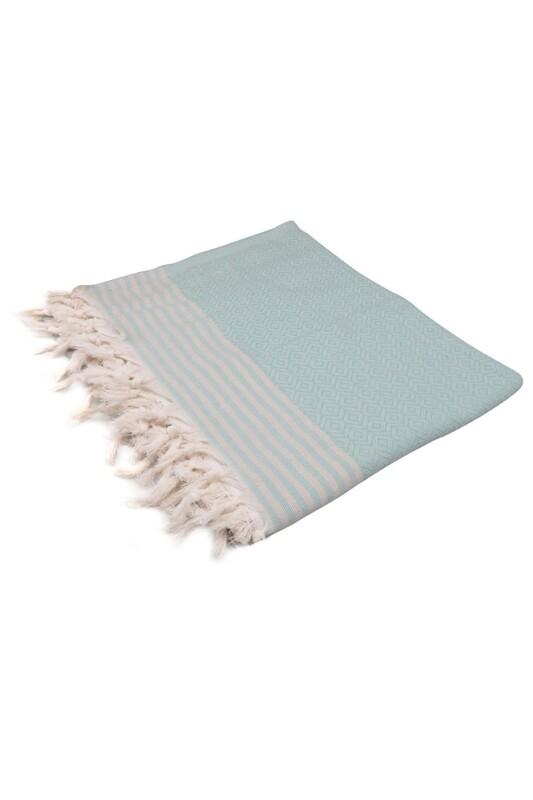 SİMİSSO - Покрывало на кресло 180*230/голубой