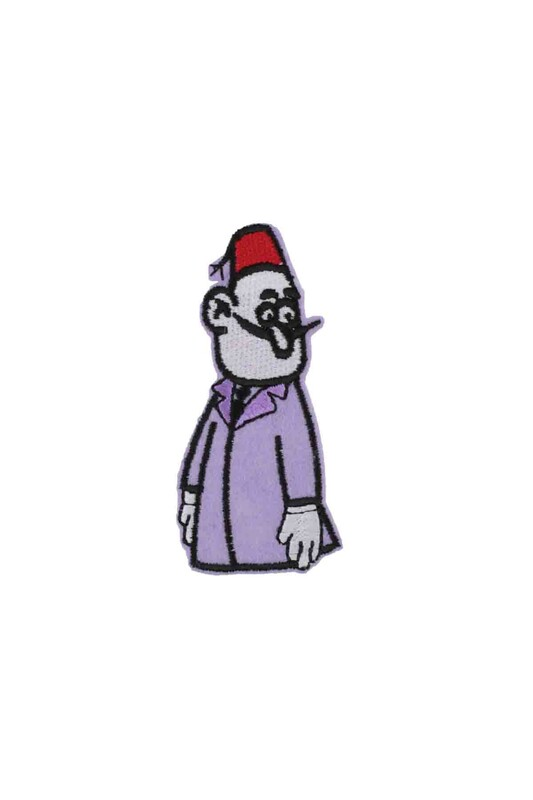 SİMİSSO - Апликация с персонажем из мультфильма SIMISSO