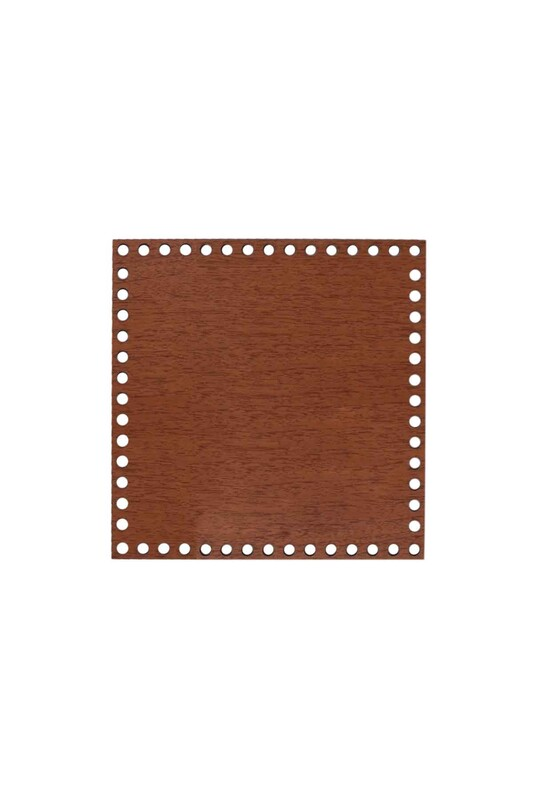 SİMİSSO - Деревянная квадратная основа 25x25